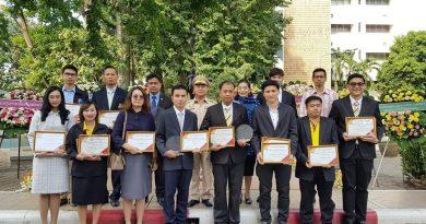 พิธีมอบรางวัลเชิดชูเกียรตินักวิจัยดีเด่น สถาบันเทคโนโลยีปทุมวัน ประจำปี พ.ศ. 2562 ครั้งที่ 2